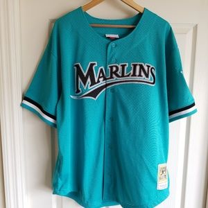 brand new a32ae 9c1da ANDRE DAWSON FLORIDA MARLINS THROWBACK JERSEY 3XL